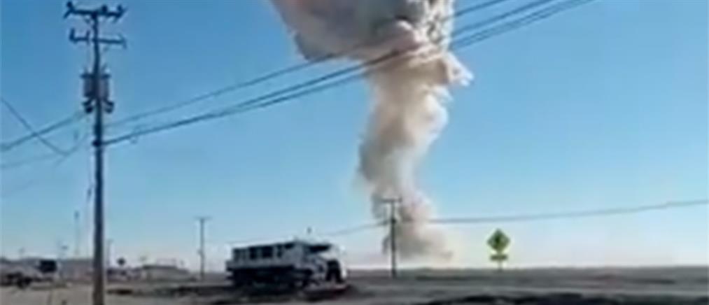 Χιλή: Ισχυρή έκρηξη σε εργοστάσιο παραγωγής νιτρογλυκερίνης (βίντεο)