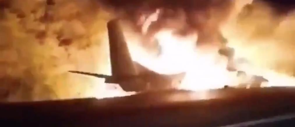 Ρωσία: Τραγωδία με συντριβή αεροσκάφους (βίντεο)