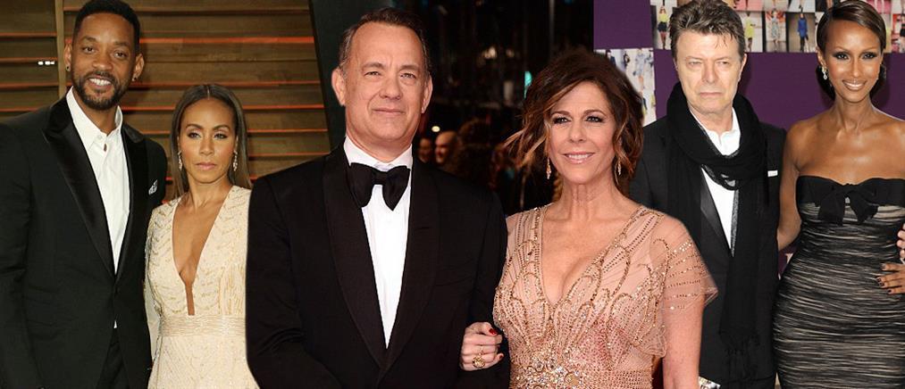 Διάσημα παντρεμένα ζευγάρια που... κράτησαν στον χρόνο!