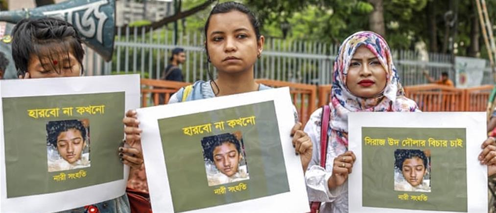 Έκαψαν ζωντανή 19χρονη γιατί κατήγγειλε σεξουαλική παρενόχληση!