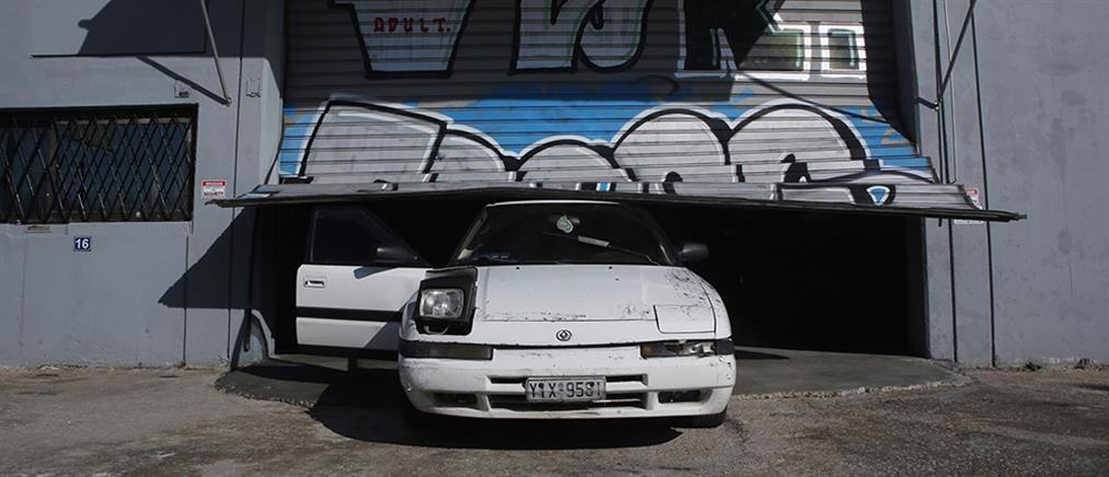 Άγιος Στέφανος: εισβολή με αυτοκίνητο σε καθαριστήριο