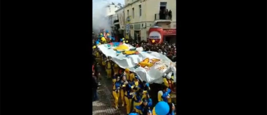 Κέφι και ρυθμός στο Καρναβάλι του Ρεθύμνου (βίντεο)