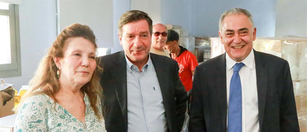 Προσφορά τροφίμων από το ΕΕΑ στον Δήμο Αθηναίων