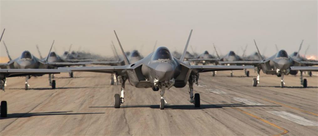 Προσγειώνονται... F-35 στην Ελλάδα την Πρωταπριλιά
