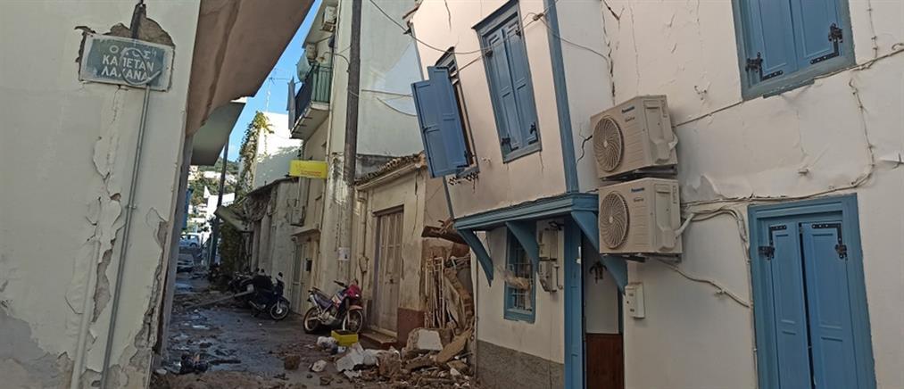 Σάμος: κοντέινερς για την προσωρινή στέγαση των σεισμόπληκτων