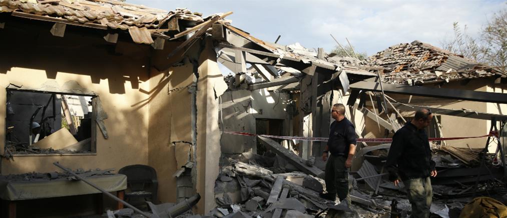 Ισραήλ: ισοπεδώθηκε σπίτι από επίθεση με ρουκέτα (βίντεο)