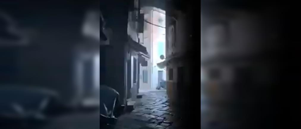 Εκρήξεις από φωτιά σε καλώδια της ΔΕΗ (βίντεο)