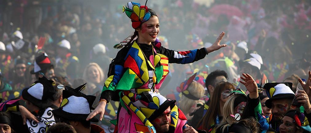 Μεγάλη η παρέλαση στο Ξανθιώτικο Καρναβάλι (βίντεο)
