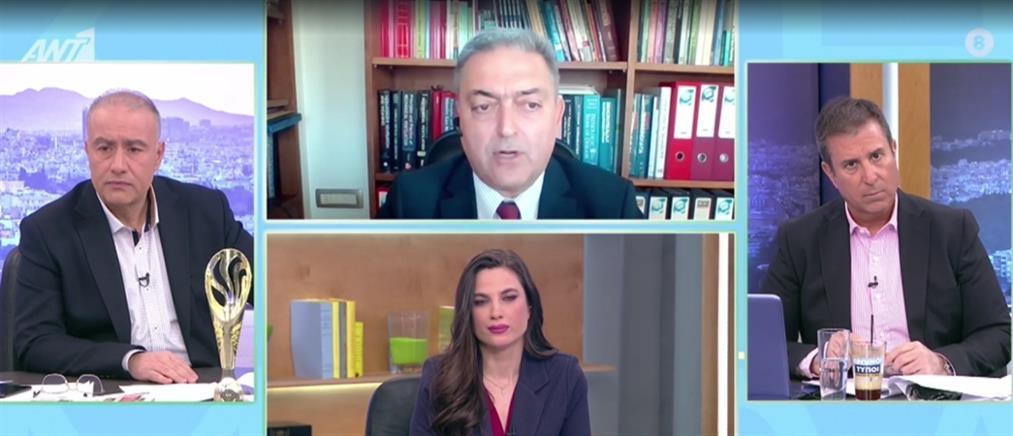 Βασιλακόπουλος στον ΑΝΤ1: έπρεπε να μείνουν κλειστά όλα τα Λύκεια