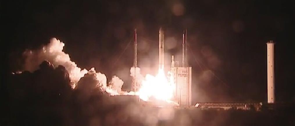 Εκτόξευση Ariane με φορτίο-ρεκόρ (βίντεο)