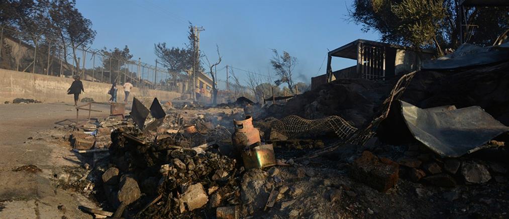 """Φωτιά στην Μόρια: """"Πυρ"""" ομαδόν από τα κόμματα"""