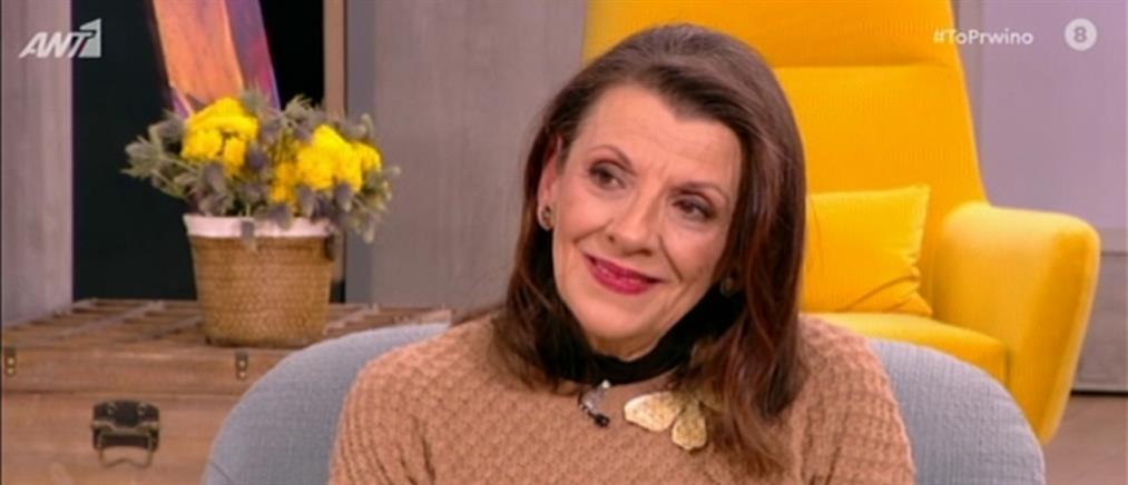 """Αποκαλυπτική η Μαρία Κανελλοπούλου στο """"Πρωινό"""" (βίντεο)"""