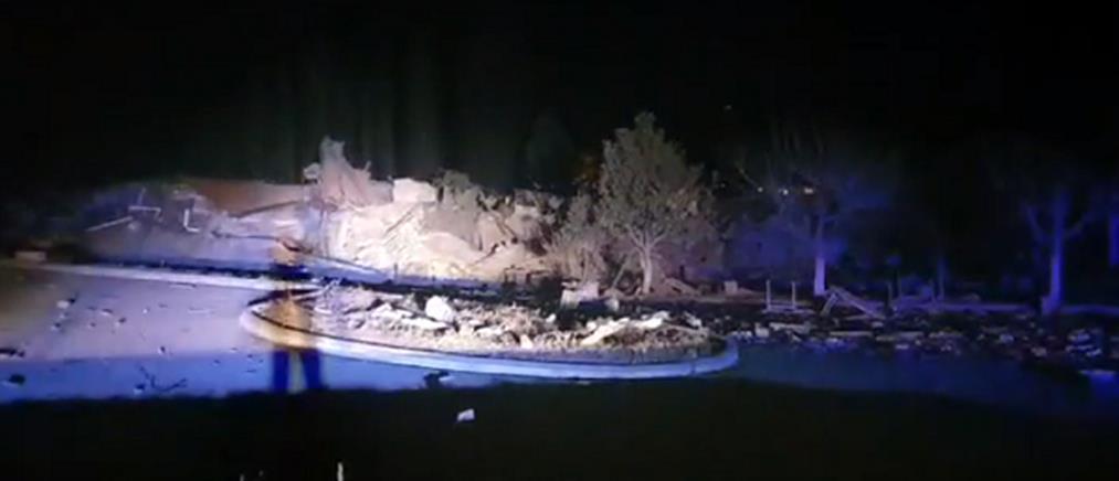 Καστοριά: Έκρηξη ισοπέδωσε ξενοδοχείο (εικόνες)