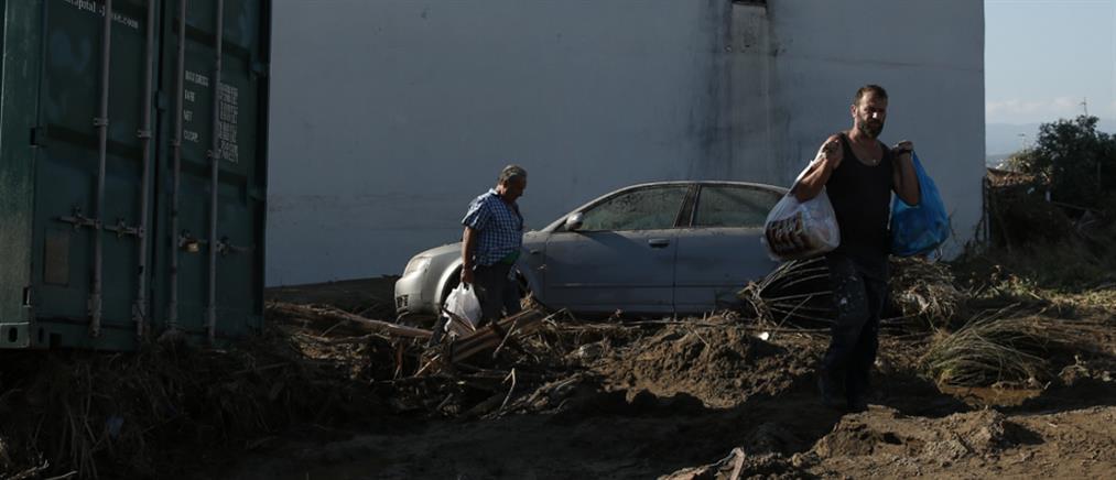 Αποζημίωση στους πληγέντες από τις πλημμύρες στην Εύβοια