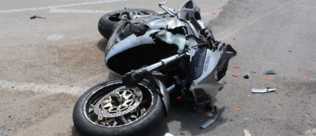 Τροχαίο με έναν νεκρό μοτοσικλετιστή