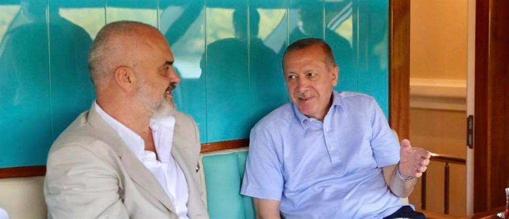 Έντι Ράμα: Η ανάρτηση με τον Ερντογάν λίγο πριν έρθει στην Αθήνα