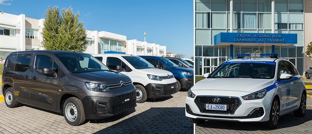 """Νέα οχήματα στον """"στόλο"""" της Ελληνικής Αστυνομίας (εικόνες)"""