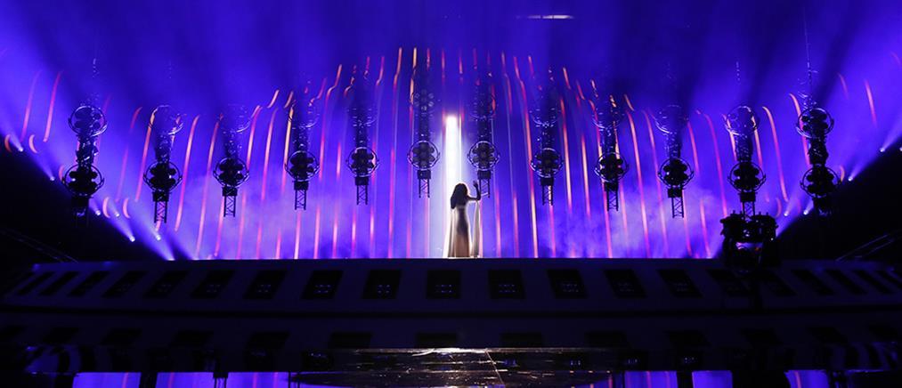 Η πρώτη πρόβα της Ελλάδας στη Eurovision – Πώς θα εμφανιστεί η Γιάννα Τερζή στον ημιτελικό (βίντεο)