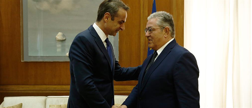 Μητσοτάκης: Ολοκληρώνει τον κύκλο των συναντήσεων με τους πολιτικούς αρχηγούς