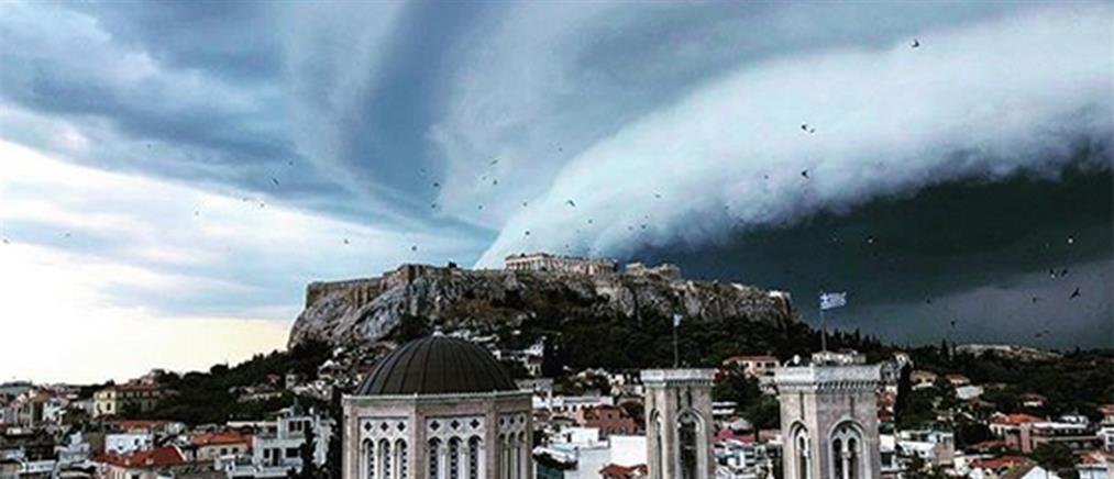 """Κακοκαιρία """"Διδώ"""": σημαντικά τα ύψη βροχής στην Αττική"""