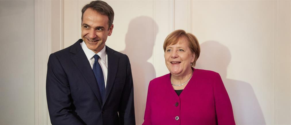 Μέρκελ: το πρόγραμμα Μητσοτάκη θα απελευθερώσει αναπτυξιακές δυνάμεις