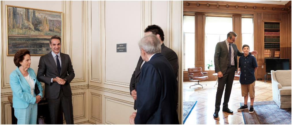 """Αίθουσα """"Δημήτρης Στεφάνου"""" στο Μαξίμου (εικόνες)"""