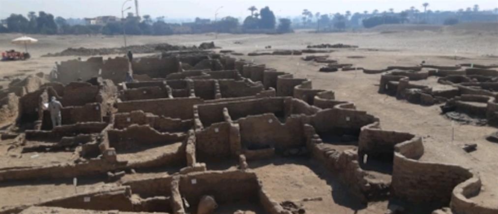 Αίγυπτος: δέος από την ανακάλυψη αρχαίας πόλης (εικόνες)