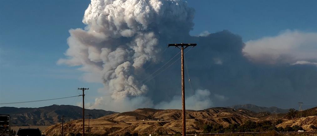 Πυρκαγιά στην Καλιφόρνια: Εκκενώνονται κατοικημένες περιοχές (βίντεο)