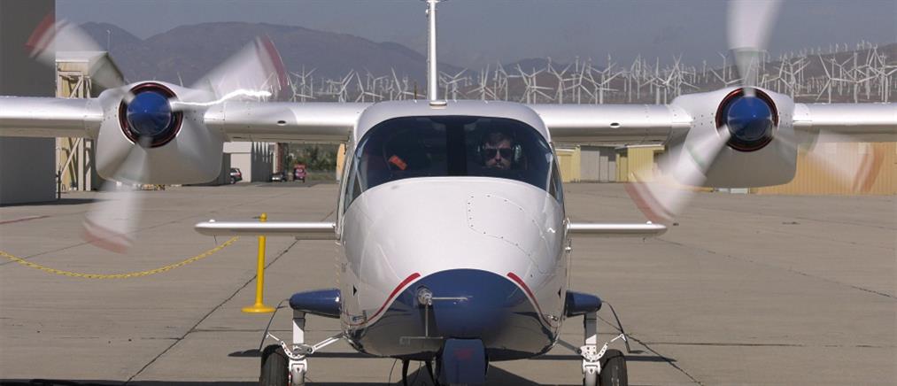Το πρώτο ηλεκτρικό αεροπλάνο της NASA (βίντεο)