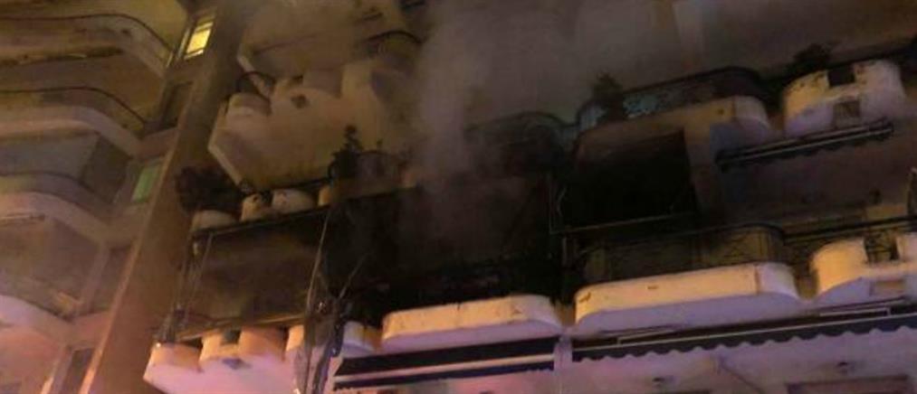Νεκρή ηλικιωμένη από φωτιά σε διαμέρισμα (εικόνες)