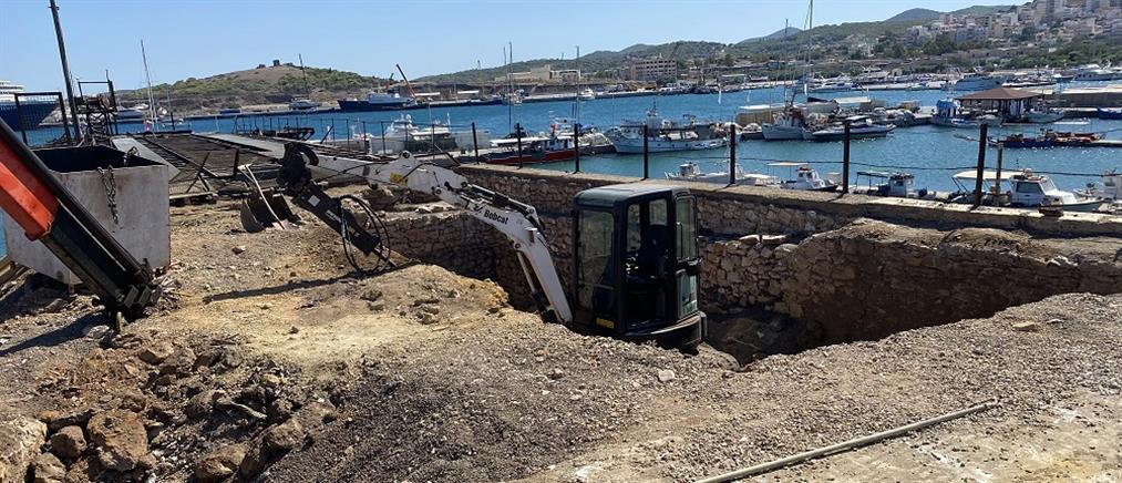 Δήμος Λαυρεωτικής: ξεκίνησε η αναστήλωση της Γαλλικής Σκάλας