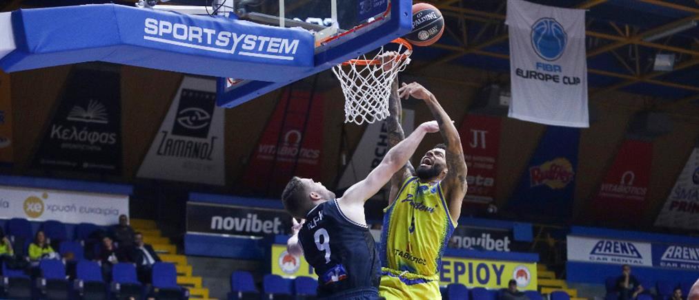 "FIBA Europe Cup: ""Λύγισε"" το Περιστέρι"
