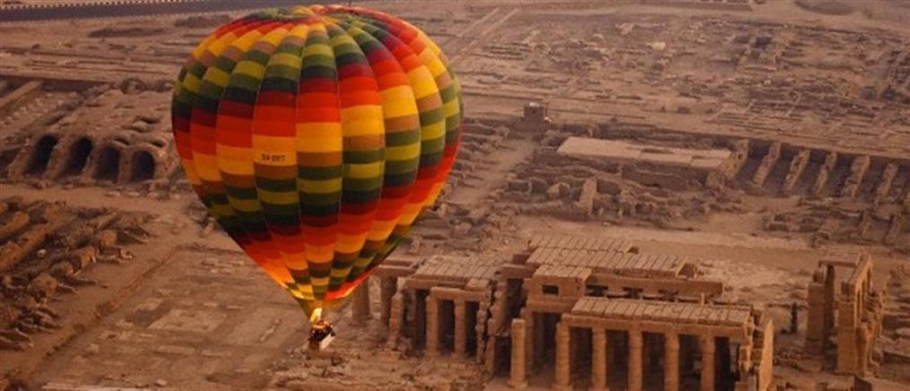 Συνετρίβη αερόστατο που μετέφερε τουρίστες στο Λούξορ