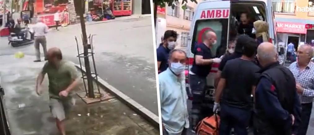 Κωνσταντινούπολη: Ένοπλος άνοιξε πυρ από μοτοσικλέτα (βίντεο-ντοκουμέντο)