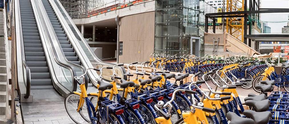 Το μεγαλύτερο πάρκινγκ ποδηλάτων στον κόσμο (εικόνες)