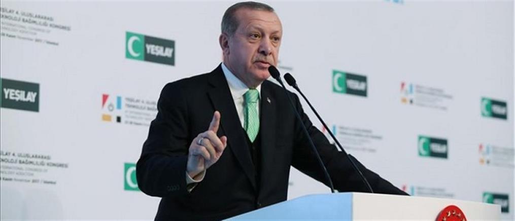 Ερντογάν: υποκριτική η στάση των πυρηνικών δυνάμεων του πλανήτη