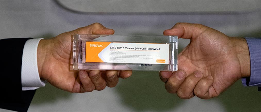 Κορονοϊός: Διακοπή στις δοκιμές για το εμβόλιο Κίνας – Βραζιλίας