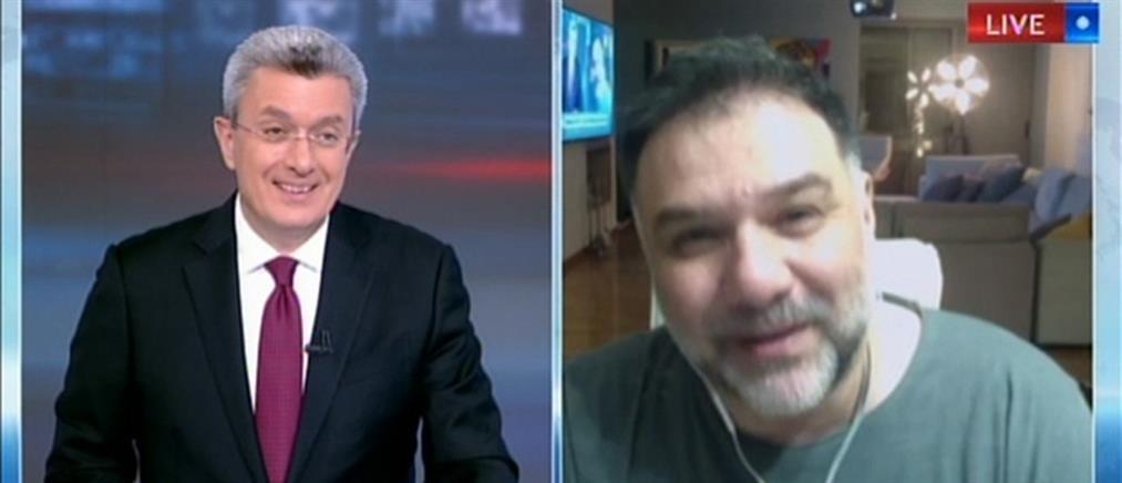 Μένουμε σπίτι: ο Γρηγόρης Αρναούτογλου, ο Νίκος Χατζηνικολάου και η… γυμναστική! (βίντεο)