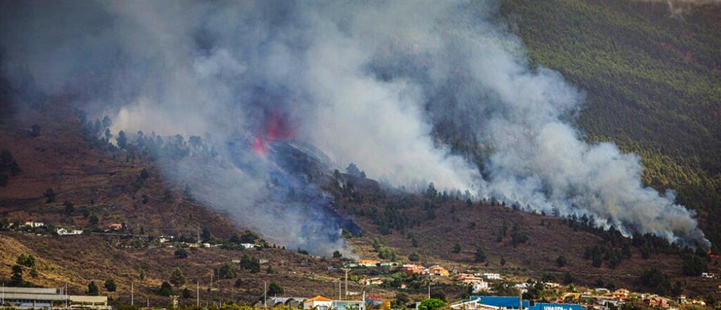 Κανάρια Νησιά: ηφαίστειο εξερράγη στη Λα Πάλμα (εικόνες)