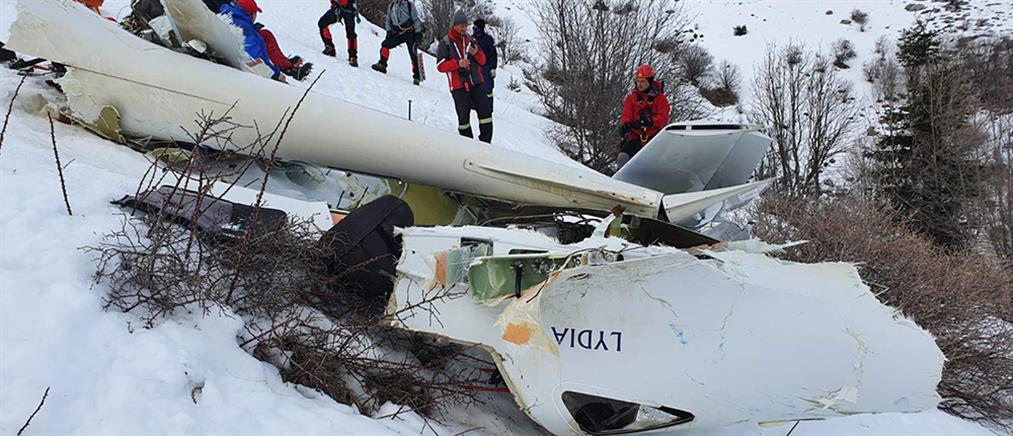 Εκπαιδευτικό αεροσκάφος: Εντοπίστηκε η σορός του πιλότου (εικόνες)