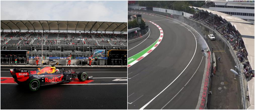 GP Μεξικού: Ο Φερστάπεν στην pole position, τρομακτικό ατύχημα για τον Μπότας