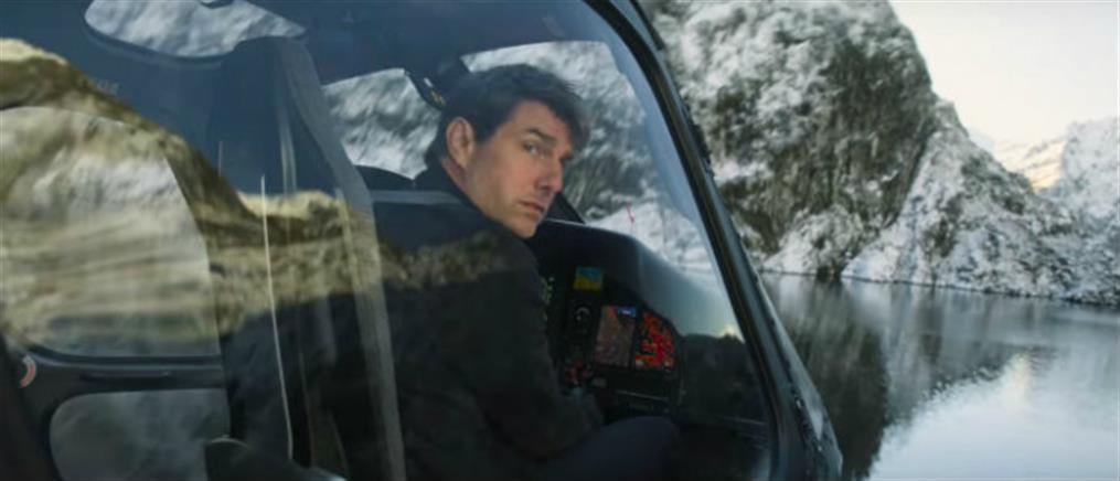 Ο Τομ Κρουζ προσγειώθηκε με ελικόπτερο στον κήπο οικογένειας