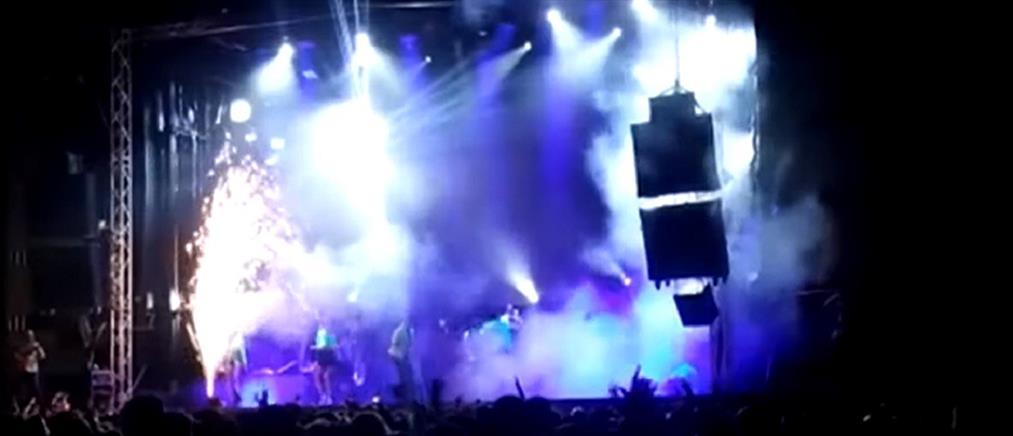 Τραγουδίστρια σκοτώθηκε μπροστά σε 1000 θεατές (βίντεο-ντοκουμέντο)