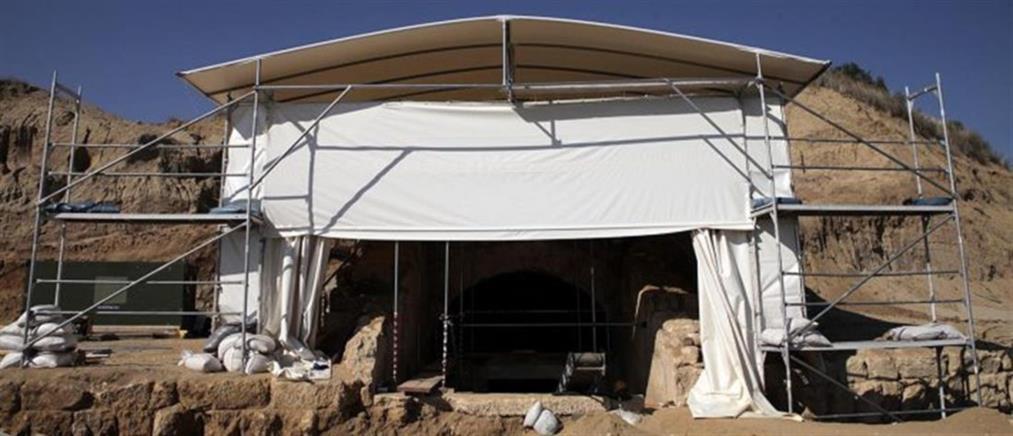 """Τύμβος Καστά - ΚΑΣ: """"Ναι"""" στην κατασκευή εξωτερικού κελύφους (εικόνες)"""