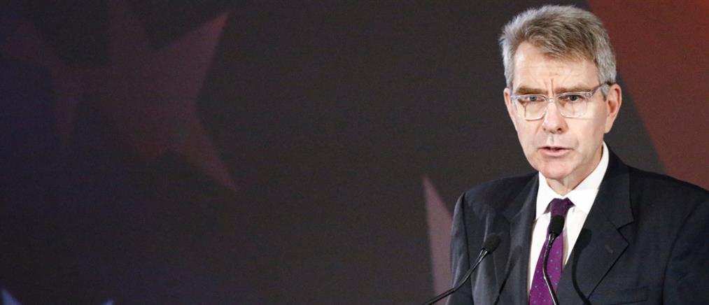 Πάιατ: Μια ισχυρή Ελλάδα είναι φυσικός εταίρος για τις ΗΠΑ