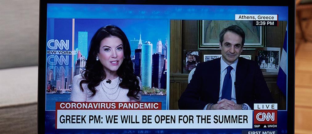 Μητσοτάκης στο CNN: Η φετινή τουριστική σεζόν θα είναι καλύτερη (βίντεο)