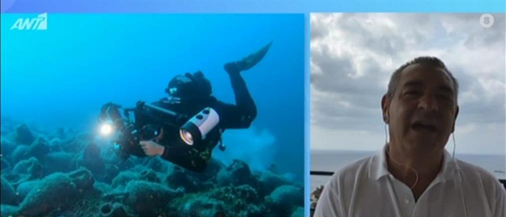 Ο Δήμαρχος Αλοννήσου στον ΑΝΤ1 για το πρώτο υποβρύχιο μουσείο (βίντεο)