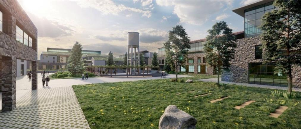 """Πολιτεία Καινοτομίας: Επίσκεψη Μητσοτάκη στις εγκαταστάσεις της """"ΧΡΩΠΕΙ"""" (εικόνες)"""