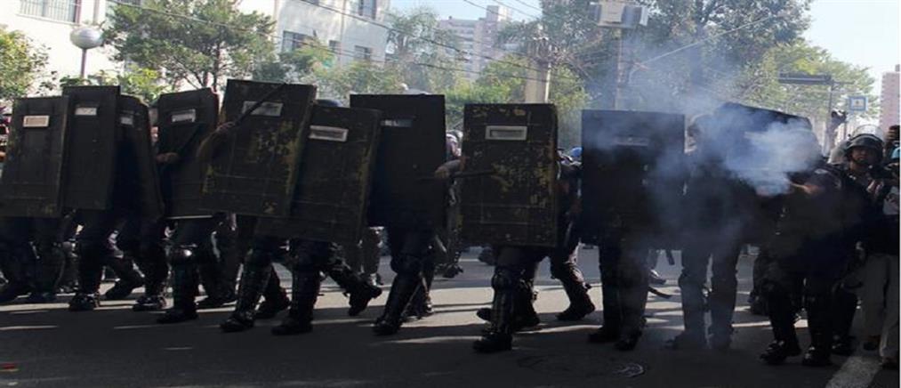 Άγρια επεισόδια μεταξύ διαδηλωτών και αστυνομικών στη Γαλλία