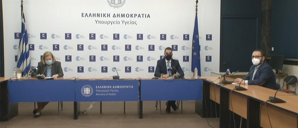 LIVΕ: Θεοδωρίδου - Θεμιστοκλέους για τον κορονοϊό, τις μεταλλάξεις και τα εμβόλια